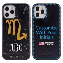 Zodiac Case for iPhone 12 / 12 Pro – Hybrid - Scorpio – Brushtroke - Personalized