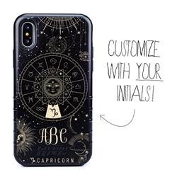 Zodiac Case for iPhone XS Max – Hybrid - Capricorn – Zodiac - Personalized