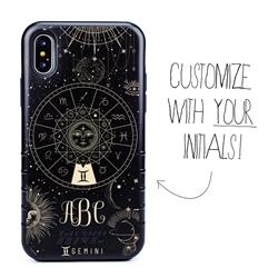 Zodiac Case for iPhone XS Max – Hybrid - Gemini – Zodiac - Personalized