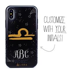 Zodiac Case for iPhone XS Max – Hybrid - Libra – Brushtroke - Personalized