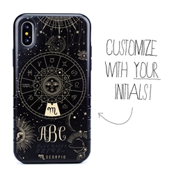 Zodiac Case for iPhone XS Max – Hybrid - Scorpio – Zodiac - Personalized