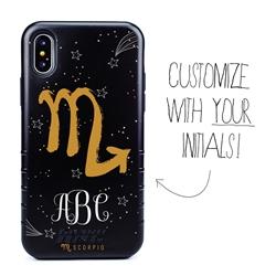 Zodiac Case for iPhone XS Max – Hybrid - Scorpio – Brushtroke - Personalized