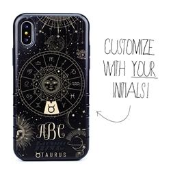 Zodiac Case for iPhone XS Max – Hybrid - Taurus – Zodiac - Personalized