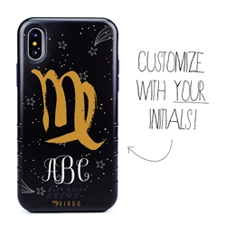 Zodiac Case for iPhone XS Max – Hybrid - Virgo – Brushtroke - Personalized