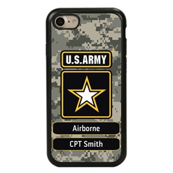 Military Case for iPhone 7 / 8 / SE – Hybrid - U.S. Army Camouflage