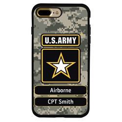 Military Case for iPhone 7 Plus / 8 Plus – Hybrid - U.S. Army Camouflage