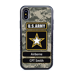 Military Case for iPhone X / XS – Hybrid - U.S. Army Camouflage