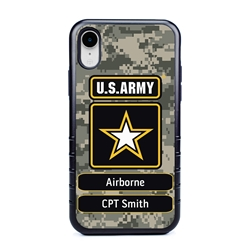 Military Case for iPhone XR – Hybrid - U.S. Army Camouflage