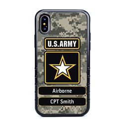 Military Case for iPhone Xs Max – Hybrid - U.S. Army Camouflage