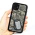 Military Case for iPhone 11 – Hybrid - Silencer DogTag UCP Camo