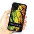 Funny Case for iPhone 11 – Hybrid - Grunge Metal Reggae