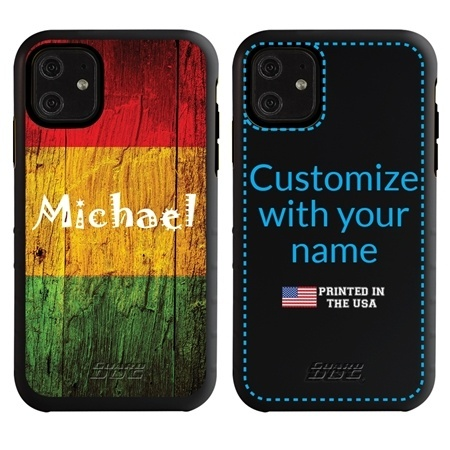 Funny Case for iPhone 11 – Hybrid - Reggae Wood