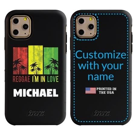 Funny Case for iPhone 11 Pro – Hybrid - Reggae Palms