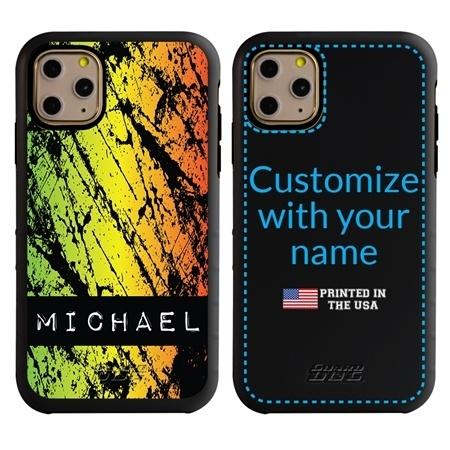 Funny Case for iPhone 11 Pro Max – Hybrid - Grunge Metal Reggae