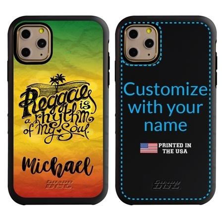 Funny Case for iPhone 11 Pro Max – Hybrid - Reggae Rhythm