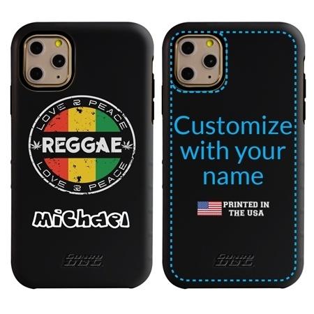 Funny Case for iPhone 11 Pro Max – Hybrid - Vintage Reggae