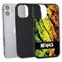 Funny Case for iPhone 12 Mini – Hybrid - Grunge Metal Reggae