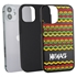 Funny Case for iPhone 12 Mini – Hybrid - Reggae Pattern