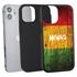 Funny Case for iPhone 12 Mini – Hybrid - Reggae Wood
