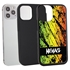 Funny Case for iPhone 12 Pro Max – Hybrid - Grunge Metal Reggae