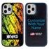 Funny Case for iPhone 12 / 12 Pro – Hybrid - Grunge Metal Reggae