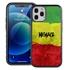Funny Case for iPhone 12 / 12 Pro – Hybrid - Reggae Illusion