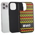 Funny Case for iPhone 12 / 12 Pro – Hybrid - Reggae Pattern