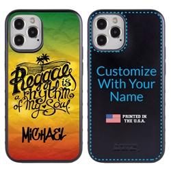 Funny Case for iPhone 12 / 12 Pro – Hybrid - Reggae Rhythm