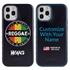 Funny Case for iPhone 12 / 12 Pro – Hybrid - Vintage Reggae