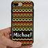 Funny Case for iPhone 7 Plus / 8 Plus – Hybrid - Reggae Pattern