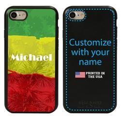 Funny Case for iPhone 7 / 8 / SE – Hybrid - Reggae Illusion