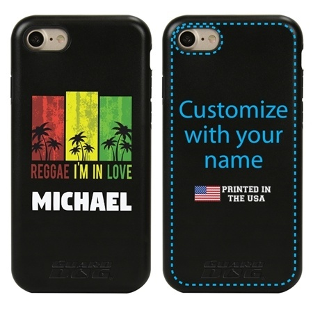 Funny Case for iPhone 7 / 8 / SE – Hybrid - Reggae Palms