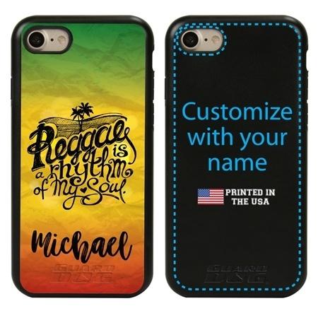 Funny Case for iPhone 7 / 8 / SE – Hybrid - Reggae Rhythm
