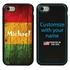 Funny Case for iPhone 7 / 8 / SE – Hybrid - Reggae Wood