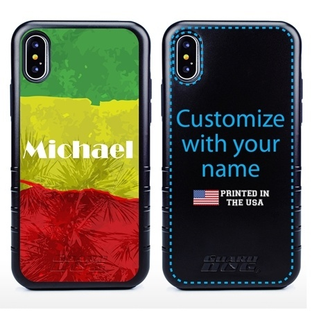 Funny Case for iPhone X / XS – Hybrid - Reggae Illusion