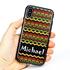 Funny Case for iPhone X / XS – Hybrid - Reggae Pattern