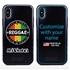 Funny Case for iPhone X / XS – Hybrid - Vintage Reggae