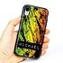 Funny Case for iPhone XR – Hybrid - Grunge Metal Reggae