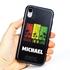 Funny Case for iPhone XR – Hybrid - Reggae Palms