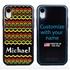 Funny Case for iPhone XR – Hybrid - Reggae Pattern
