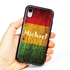 Funny Case for iPhone XR – Hybrid - Reggae Wood