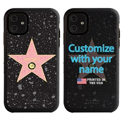 Funny Case for iPhone 11 – Hybrid - Hollywood Star - Music