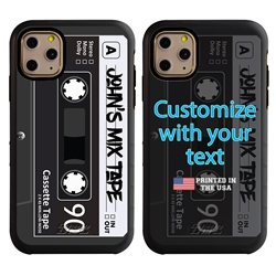 Funny Case for iPhone 11 Pro – Hybrid - Mix Tape