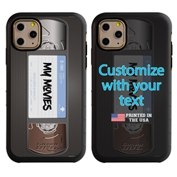 Funny Case for iPhone 11 Pro Max – Hybrid - VHS Tape