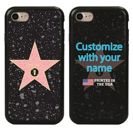 Funny Case for iPhone 7 / 8 / SE – Hybrid - Hollywood Star - Radio