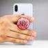 Custom Phone Grip – Pink Carnation
