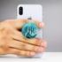 Custom Phone Grip – Blue Marble