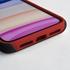 Custom Soccer Jersey Hybrid Case for iPhone 11 - (Black Case, White Jersey)