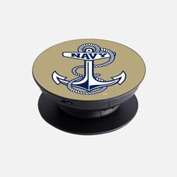 Navy Midshipmen - Anchor Logo Phone Grip and Stand - Full Print