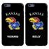 Collegiate Case for iPhone 6 Plus / 6s Plus  – Hybrid Kansas Jayhawks - Personalized